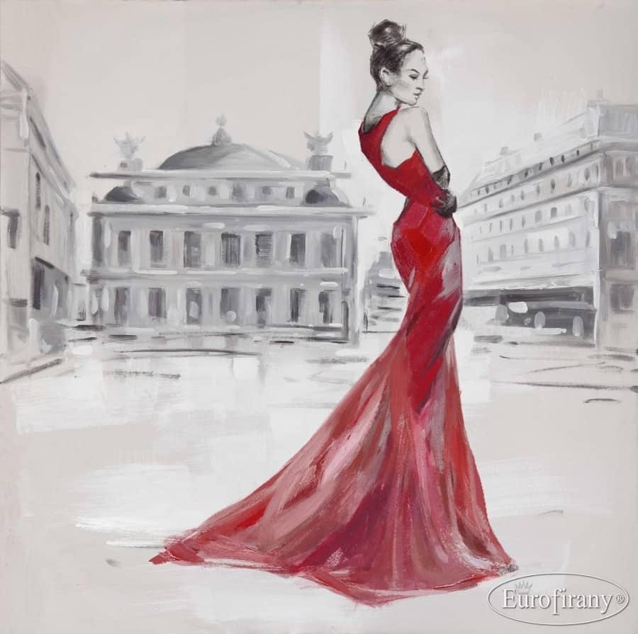 Bardzo dobry Ręcznie Malowane Obrazy Eurofirany | RADIMAR QH99