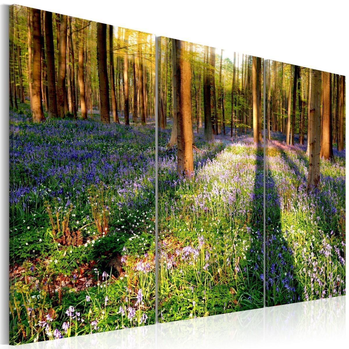 Poważne Obraz - Wiosenny las HP57