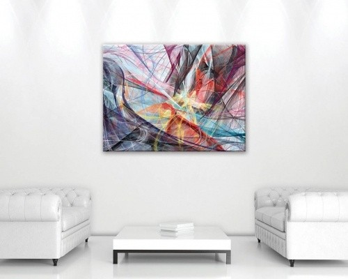Abstrakcja CANVAS O1 (100 X 75 CM)